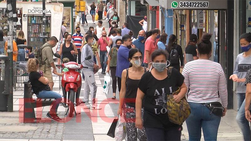 Reportaron 193 casos de coronavirus en doce departamentos: Paraná sumó 82