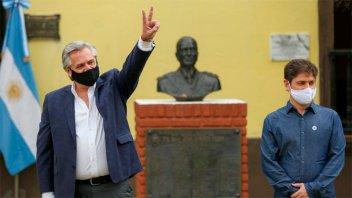 Día de la Lealtad: Fernández visitó el lugar donde estuvo detenido Perón en 1945