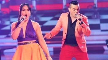 Los cantantes de cumbia, Ángela Leiva y Brian Lanzelotta, contrajeron Covid-19