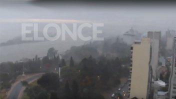 Llueve en Paraná y hay alerta por tormentas fuertes para 10 provincias