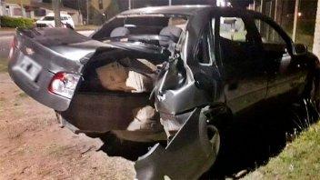 Hospitalizaron a cuatro personas tras impresionante accidente de tránsito