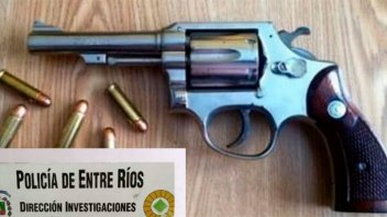 Conflicto barrial demandó un allanamiento y secuestraron un revólver 38