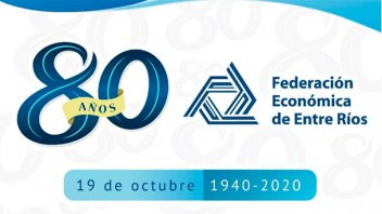 La Federación Económica de Entre Ríos celebra su 80º aniversario
