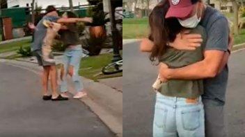 Video: El emocionante reencuentro de Fredy Villarreal con su hija