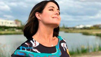 Pamela David se entrena para un nuevo rol dentro del Grupo América