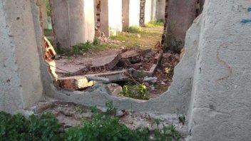 Vándalos provocaron destrozos en una zona histórica de Concordia