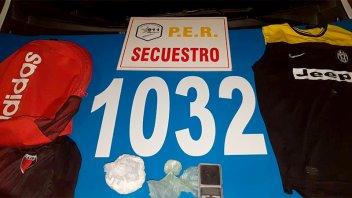 Detuvieron a un joven de 18 años con 200 gramos de cocaína en Paraná