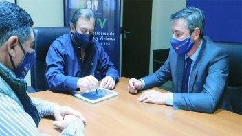 IAPV y Banco de Entre Ríos firmaron convenio para el pago electrónico de cuotas