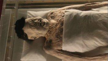 China: Una momia de 2.000 años todavía conserva sangre en sus venas