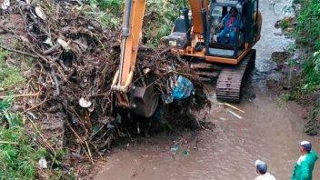 Se realizó limpieza y saneamiento del Arroyo Colorado