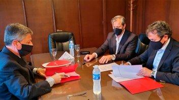 BERSA y municipalidad formalizaron un acuerdo que beneficia a contribuyentes