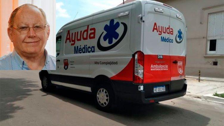 El intendente de Gualeguay fue derivado en ambulancia a Buenos Aires