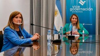 Stratta y Romero participaron de un encuentro de trabajo con el ministro Moroni