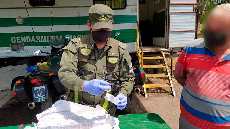 Gendarmería Concordia decomisó encomienda con 1000 comprimidos de anabólicos