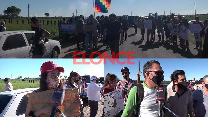 Las voces de la marcha para apoyar a Dolores Etchevehere y el Proyecto Artigas