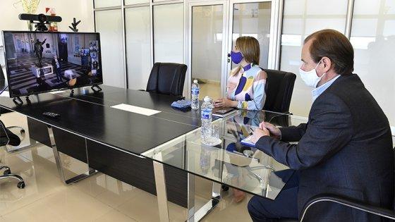 Junto al Presidente, Bordet homenajeó la figura de Kirchner