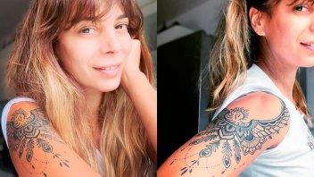 Ximena Capristo mostró un tatuaje que la