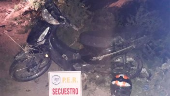 Recuperaron una moto robada en Paraná mientras el propietario hacía la denuncia