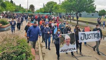 Vecinos marcharon pidiendo justicia por el cura asesinado en Córdoba
