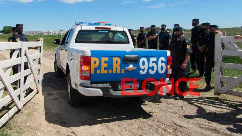 Etchevehere vs. Etchevehere: Comisión policial ingresó a la estancia Casa Nueva