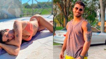 Enamoradísimos, Ivana Nadal y Bruno Siri lucieron sus lomazos