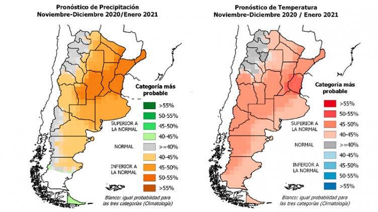Pronóstico trimestral: Entre Ríos, en la zona más afectada por sequía y calor