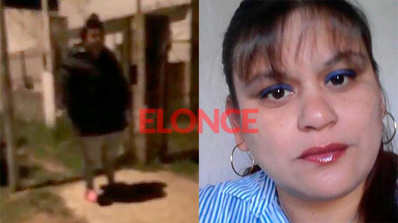 A la izquierda, la asesina tras el hecho. A la derecha, la víctima.