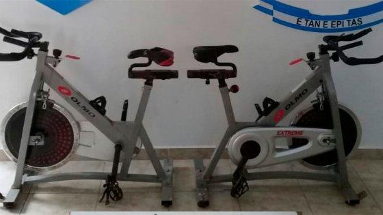 Recuperaron bicicletas robadas hace dos meses en gimnasio del Club Estudiantes