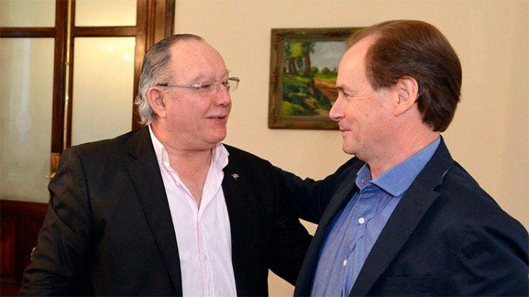 El gobernador despidió con consternación y dolor al intendente de Gualeguay