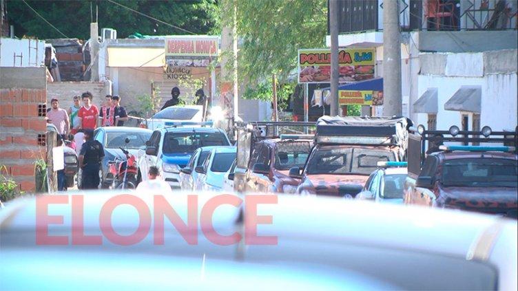 Narcomenudeo: Hubo tres detenidos tras los allanamientos en Puerto Viejo