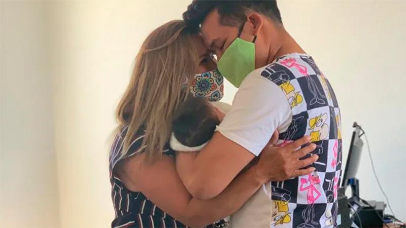 Un joven recuperó a su beba luego que su ex le dijera que estaba muerta
