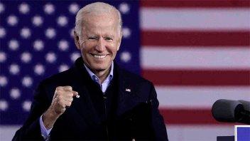 Dos días antes de su asunción, Biden llamó a la unidad del país