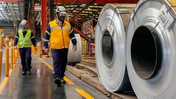 Industria: uso de capacidad instalada tuvo en diciembre su tercera mejora anual