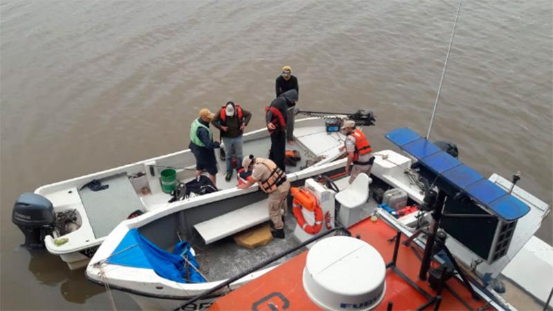 Viajaron para pescar en Entre Ríos con un permiso adulterado