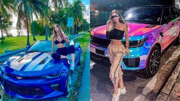 Lujos y fiesta: Romina Malaspina disfrutó de un viaje relámpago a Miami
