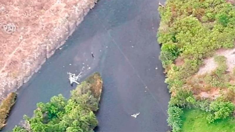 """Muerte de Jorge Brito: """"El cable de la tirolesa cortó la cola del  helicóptero"""" - Policiales - Elonce.com"""