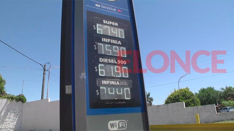 Aumento en los combustibles de YPF: Los nuevos valores que rigen en Paraná