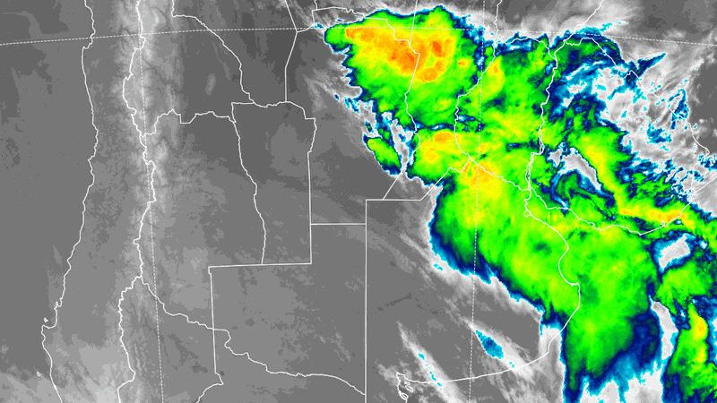 Con el viento del sudeste, baja la temperatura: Continúa alerta por tormentas
