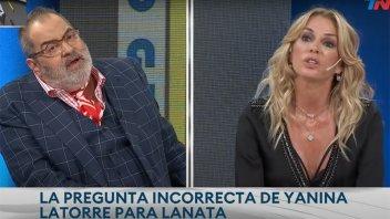 La pregunta íntima de Yanina Latorre que sorprendió a Jorge Lanata