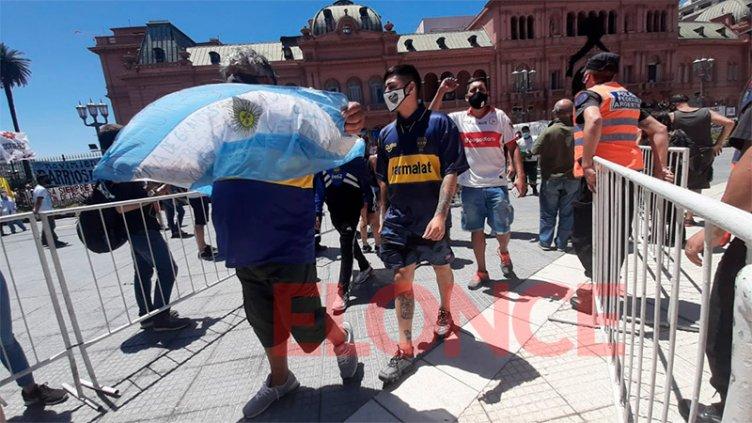 Elonce TV en el adiós a Maradona: testimonios de despedida al Diez del fútbol