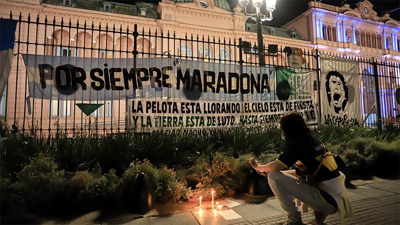 Vigilia en Casa Rosada: velatorio de Maradona será masivo pero durará 10 horas