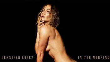 El desnudo total de Jennifer Lopez  para promocionar su nuevo single