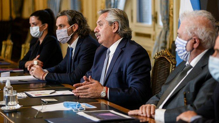 Fernández se reunió con gobernadores: se espera anuncio sobre próxima etapa