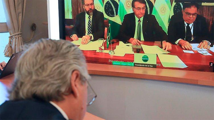 Fernández dialogó con Bolsonaro y llamó a dejar