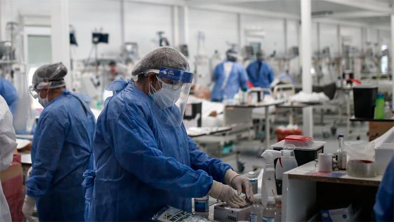 Informaron 257 muertes y  5726 nuevos casos de covid-19 en Argentina