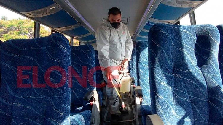 Se reactivó en más del 60% el transporte interurbano en Entre Ríos