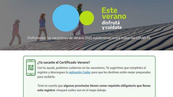 Cómo tramitar los certificados para vacacionar y en qué lugares los piden