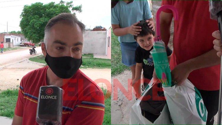 La solidaridad afloró para ayudar a familia tras incendio de su casa