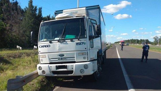 Camionero entrerriano se descompensó y falleció en rodado que conducía