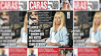 Escándalo por la tapa de  Claudia Villafañe: Qué dijo la revista Caras